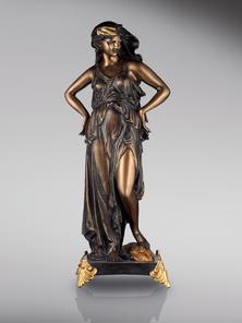 Итальянская бронзовая статуя Summer Woma фабрики Fonderia Artistica Ruocco