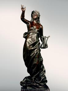 Итальянская бронзовая статуя Venus at the source фабрики Fonderia Artistica Ruocco