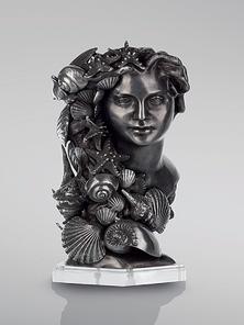 Итальянская бронзовая статуя Anna bust фабрики Fonderia Artistica Ruocco