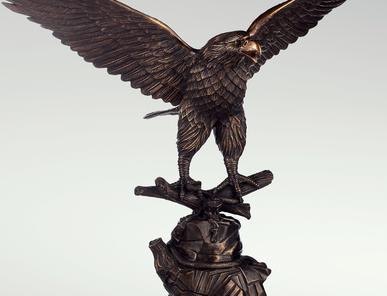 Итальянская бронзовая статуя Eagle I фабрики Fonderia Artistica Ruocco