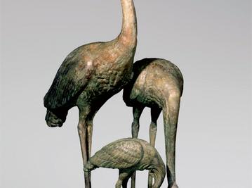 Итальянская бронзовая статуя Herons group I фабрики Fonderia Artistica Ruocco