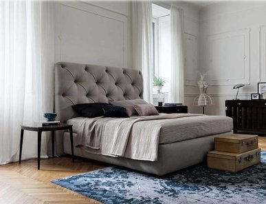 Итальянская кровать Lancaster фабрики Philipp Selva