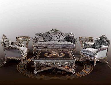 Итальянская мягкая мебель фабрики BAZZI Композиция 01