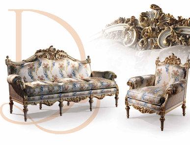 Итальянская мягкая мебель фабрики BAZZI Композиция 07