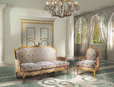 Итальянская мягкая мебель фабрики BAZZI Композиция 08