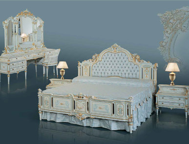 Итальянская спальня фабрики BAZZI Композиция 04