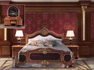 Итальянская кровать F218 фабрики BAZZI