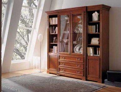 Итальянский книжный шкаф Villa Borghese фабрики Selva Timeless