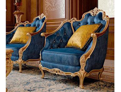 Итальянское кресло ABU DABHI фабрики BAZZI