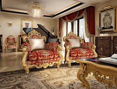 Итальянское кресло SHANGHAI фабрики BAZZI