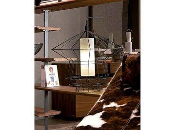Итальянская настольная лампа ZEPPELIN фабрики Cattelan Italia