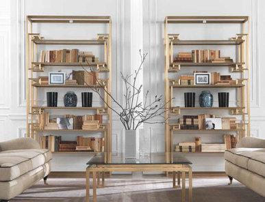 Итальянский книжный шкаф DALSTON фабрики GIANFRANCO FERRE