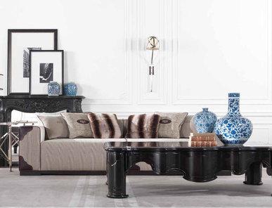 Итальянская мягкая мебель AUSTIN фабрики GIANFRANCO FERRE