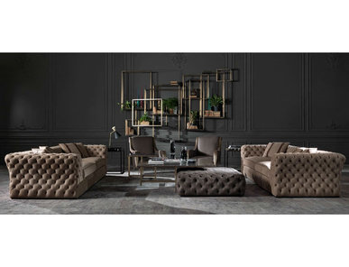Итальянская мягкая мебель KING'S CROSS фабрики GIANFRANCO FERRE