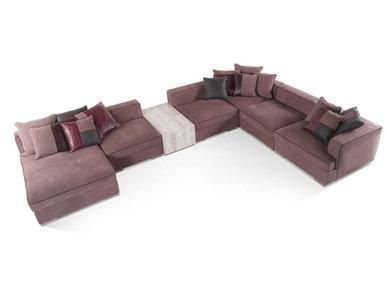Итальянская модульная мягкая мебель FLAIR фабрики GIANFRANCO FERRE