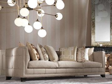 Итальянская мягкая мебель BARNEY 1 фабрики GIANFRANCO FERRE