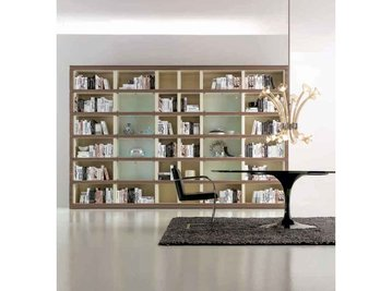 Итальянский книжный шкаф 02 фабрики Galimberti Nino