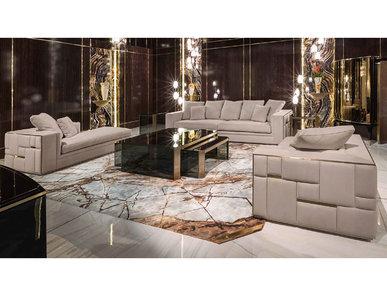 Итальянская мягкая мебель Babylon фабрики VISIONNAIRE