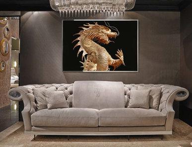 Итальянская мягкая мебель Valancourt фабрики VISIONNAIRE