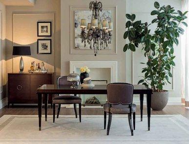 Итальянский стол и стулья Lumière фабрики Galimberti Nino