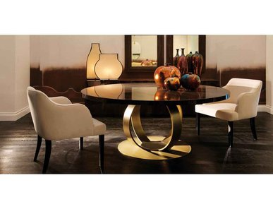 Итальянский стол и стулья ANDREW фабрики Domedziioni