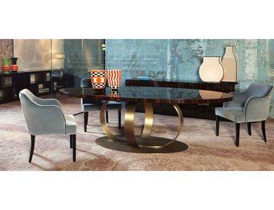 Итальянский стол и стулья ANDREW I фабрики Domedziioni