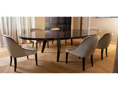 Итальянский стол и стулья HARRY фабрики Domedziioni