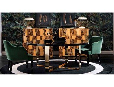 Итальянский стол и стулья PIERRE I фабрики Domedziioni