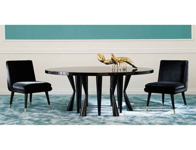 Итальянский стол и стулья ROBIN фабрики Domedziioni