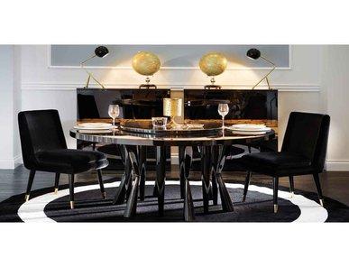 Итальянский стол и стулья ROBIN I фабрики Domedziion