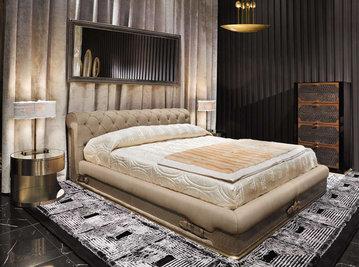 Итальянская кровать Chester Laurence фабрики VISIONNAIRE