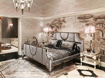Итальянская кровать Windsor фабрики VISIONNAIRE