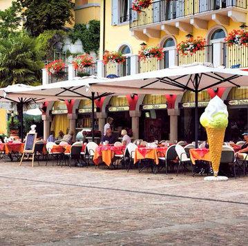 Итальянский зонт Dehor фабрики POGGESI