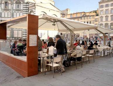 Итальянский зонт King фабрики POGGESI