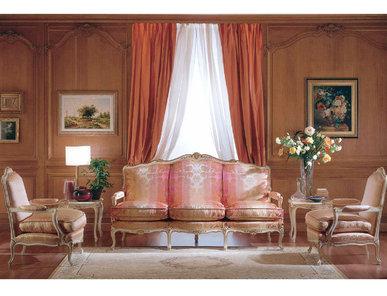 Итальянская мягкая мебель LUIGI XV фабрики ZANABONI