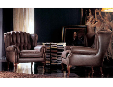 Итальянское кресло Manchester фабрики ZANABONI