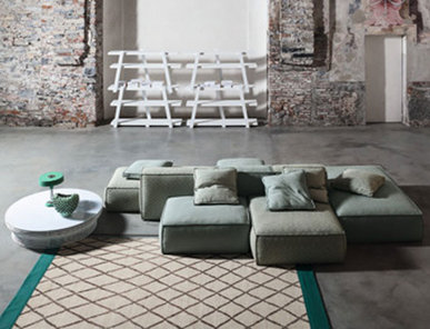Итальянский диван Peanut B фабрики Bonaldo