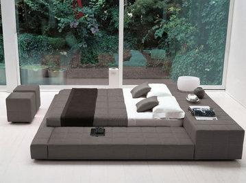 Итальянская кровать Squaring penisola фабрики Bonaldo
