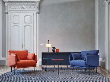 Итальянское кресло Structure I фабрики Bonaldo
