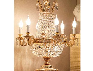 Итальянская настольная лампа L013/T фабрики ZANABONI