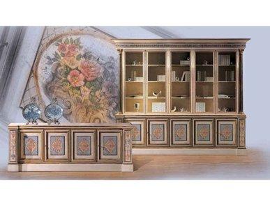 Итальянский книжный шкаф 2027 фабрики BELLOTTI ESIO