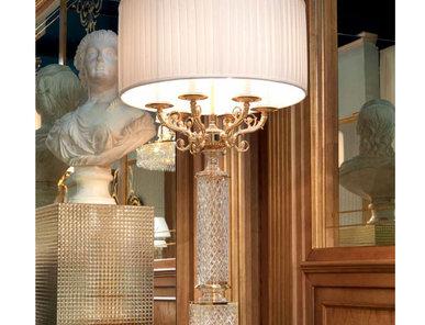 Итальянская настольная лампа L034/T фабрики ZANABONI