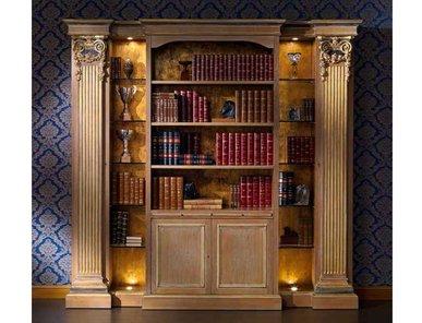 Итальянский книжный шкаф B/4550 фабрики ZANABONI