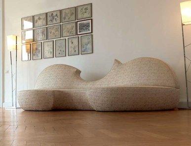 Итальянская мягкая мебель STRADIVARI фабрики ZANABONI
