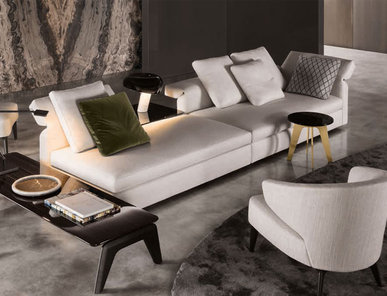 Итальянская мягкая мебель COLLAR 05 фабрики MINOTTI