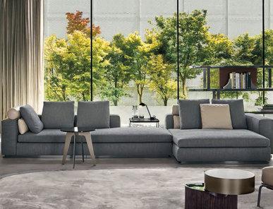 Итальянская мягкая мебель LEONARD 01 фабрики MINOTTI