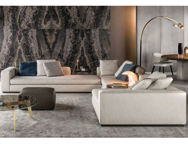 Итальянская мягкая мебель LEONARD 02 фабрики MINOTTI