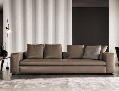 Итальянская мягкая мебель LEONARD 04 фабрики MINOTTI