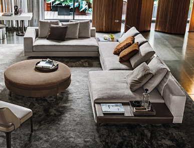 Итальянская мягкая мебель WHITE 01 фабрики MINOTTI