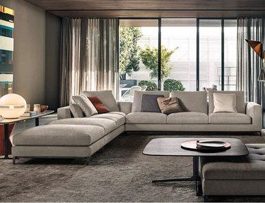 Итальянская мягкая мебель ANDERSEN 01 фабрики MINOTTI